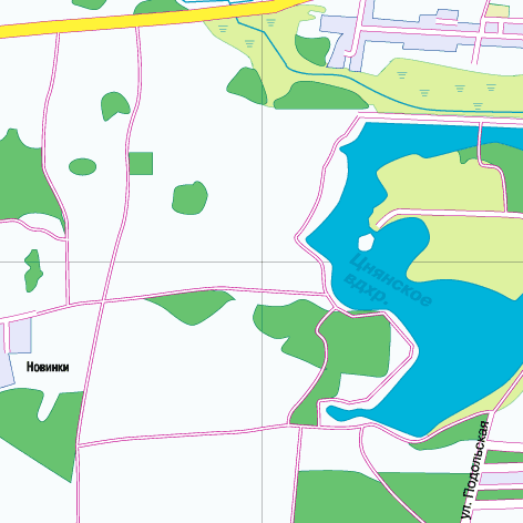 Карта минска 2000